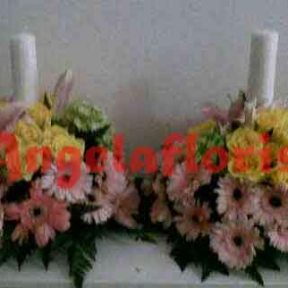 karangan bunga lilin, karangan bunga jakarta, karangan bunga altar