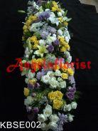 karangan bunga orang meninggal, karangan bunga dukacita, karangan bunga salib, karangan bunga atas peti