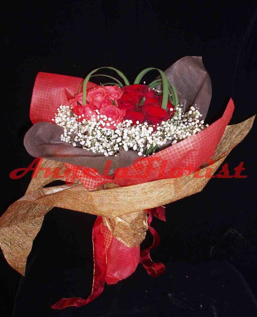 karangan bunga jakarta , karangan bunga mawar