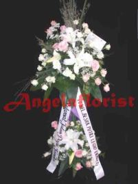 karangan bunga jakarta, karangan bunga standing flower , karangan bunga mawar