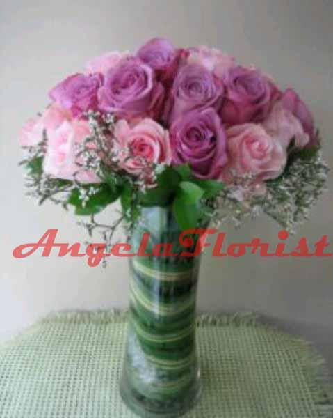 karangan bunga jakarta, karangan bunga meja , karangan bunga mawar