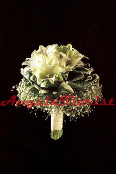karangan bunga jakarta , karangan bunga lily